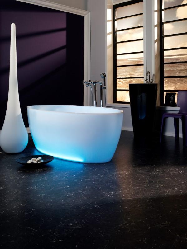 Dip chromo bleue décor 0169 (Custom)