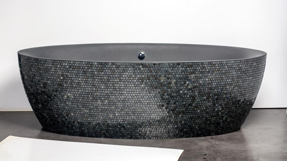 Dip mosaïque anthracite (Custom)