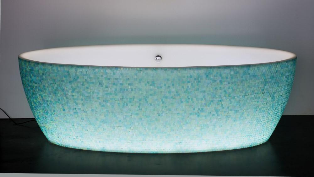 Dip mosaïque light turquoise (Custom)