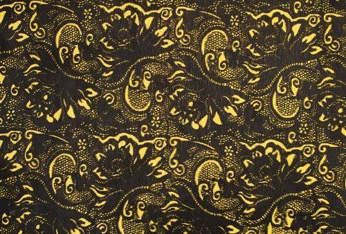 horsy-9019-lemon-damasco-negative-black (Custom)