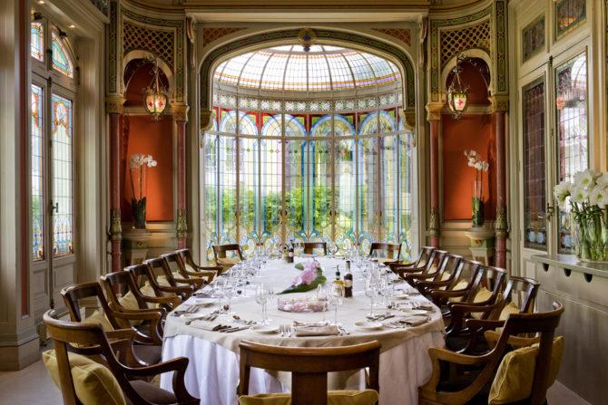 Banquet - Salon Mauresque - Hotel Grand Barrail