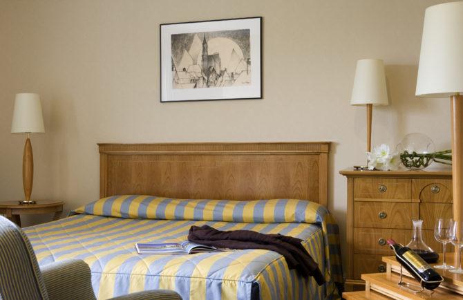 Chambre St Emilion - Hotel Grand Barrail